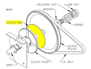 009256 Clutch Disc Diagram