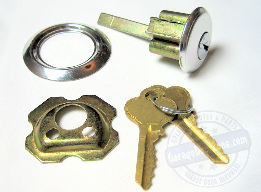 Garage Door Exterior Lock Cylinder (keyed randomly)