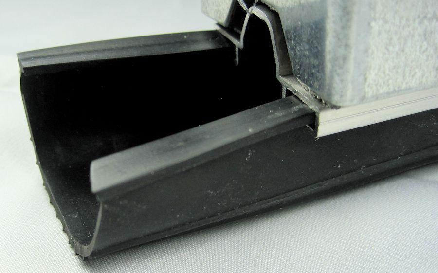 3 Inch Black 1 4 Inch T Style Heavy Duty Rubber Garage Door Seal