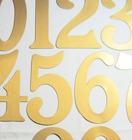Magnetic House Numbers