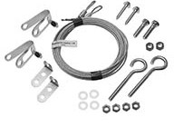Garage Door Extension Spring Safety Cables Kit